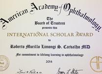 instituto-de-olhos_international-scholar-award