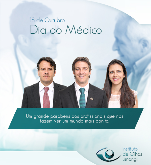 Instituto de Olhos Limongi - Blog - Dia do Médico