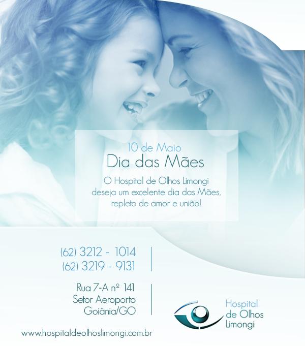 Instituto de Olhos Limongi - Blog - Cartão - Dia das Mães
