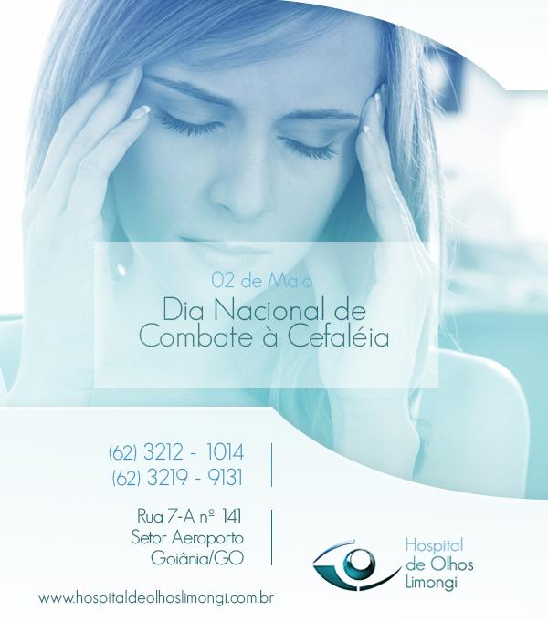 Instituto de Olhos Limongi - Blog - Dia Nacional de Combate à Cefaléia