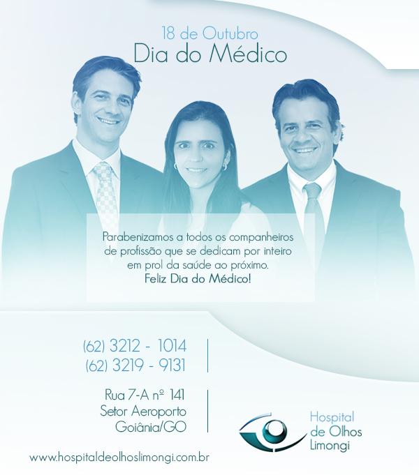 Instituto de Olhos Limongi - Blog - Dia do Médico
