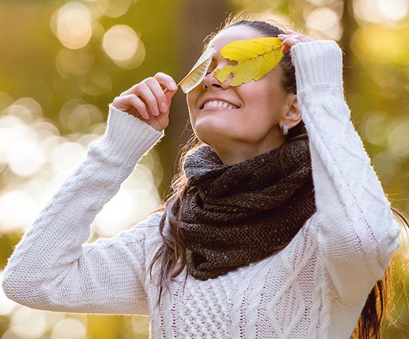 Como cuidar da sua visão no Outono
