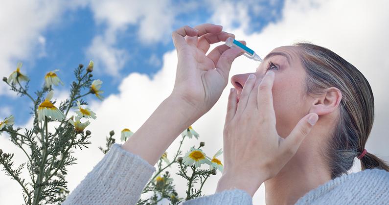 Hospital de Olhos Limongi - Blog - Alergias oculares na primavera como prevenir
